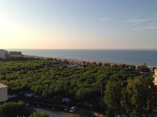 Hotel Atlantic Riviera: PANORAMA DALLA TERRAZZA DELLA PISCINA