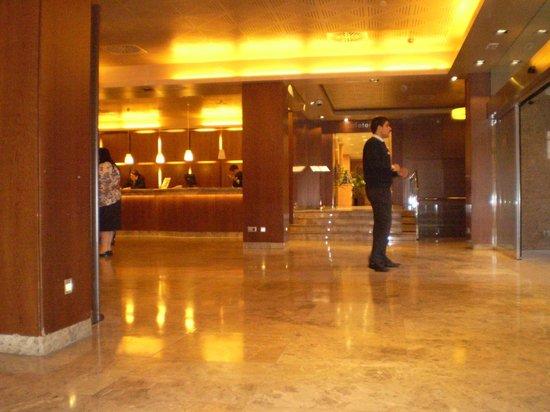 Hotel Praga: el lobby