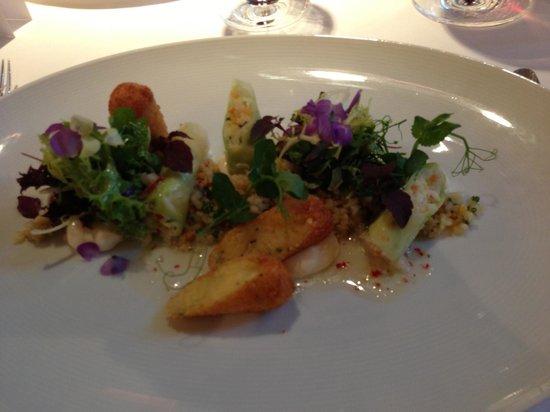 Hotel Adler Asperg: Dinner at die Schwabenstube