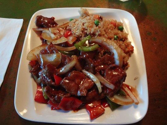 Sushi Yoshi Hibachi Steakhouse: Pepper steak