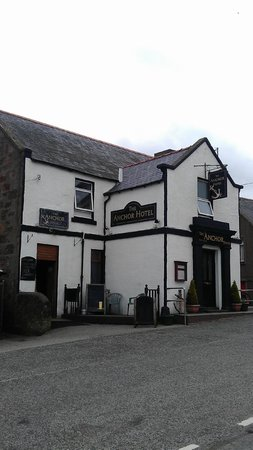 The Anchor Hotel, Johnshaven, Scotland.