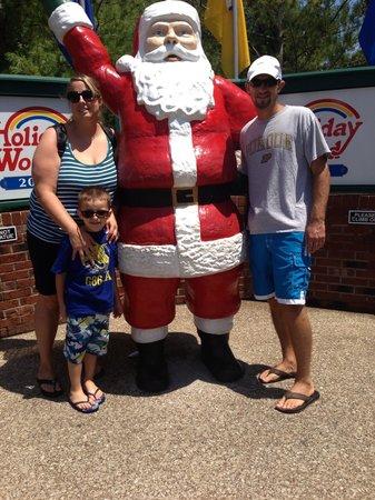 Holiday World & Splashin' Safari : Nephew, bf and me.