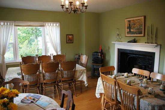 Willow House Inn: Frühstücksraum