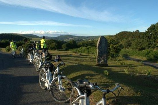 Dartmoor Electric Bicycles: Taking in the view