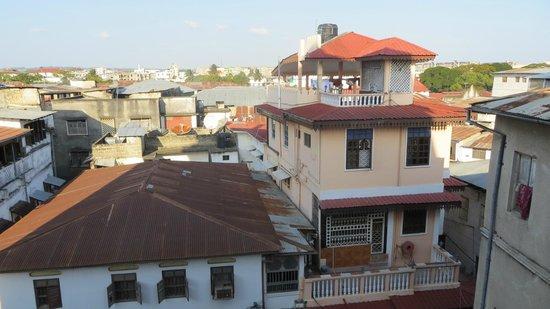 The Swahili House: Vue depuis le toit