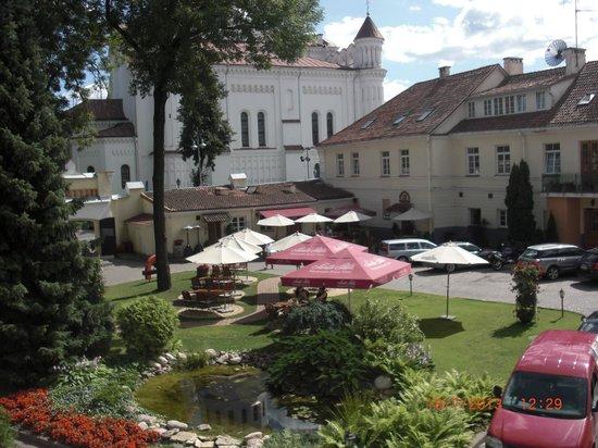 Отель Mabre Residence: Courtyard