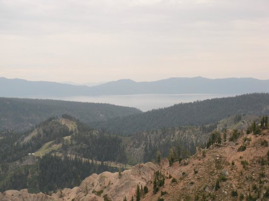 High camp view of lake tahoe picture of squaw valley ski - High camp swimming pool squaw valley ...