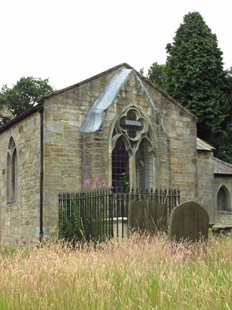 Bay Tree Farm: Aldfield Church nearby