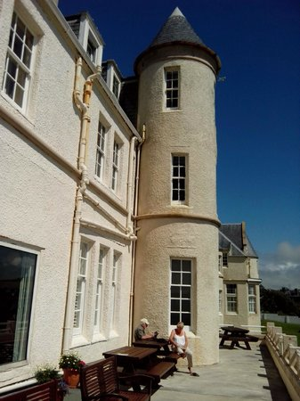 The Portpatrick Hotel: our turret room 2nd floor