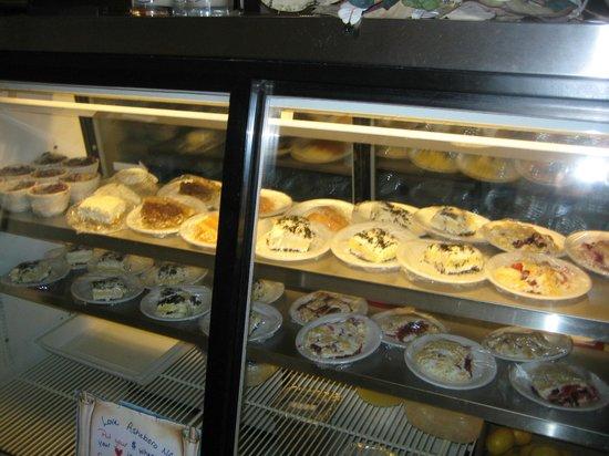 Magnolia 23: Desserts -- blackberry cobbler, orange delight cake, others