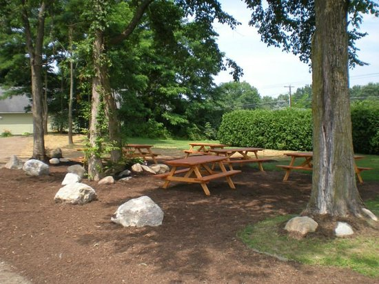 Wildwood Barbeque: Outdoor picnic area