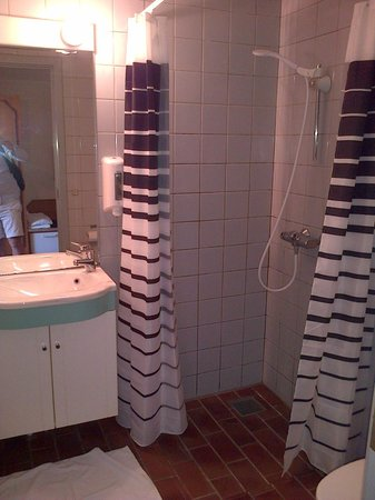 Hotel Pinenhus: SMELLY AND NON CLEAN BATHROOM
