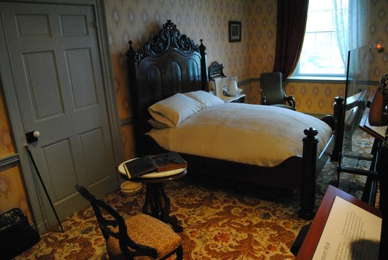 David Wills House : His bedroom
