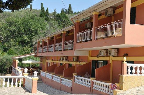 Penelope Hotel: Camere vista mare