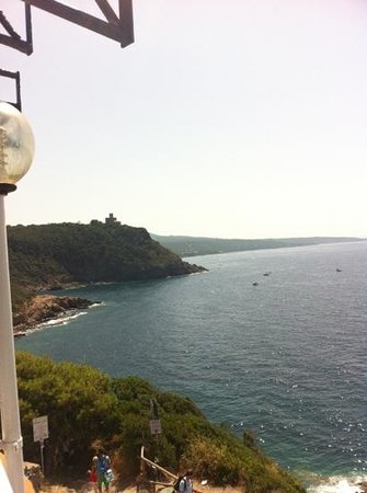 Hotel Il Romito: Il Romito ... bella vista