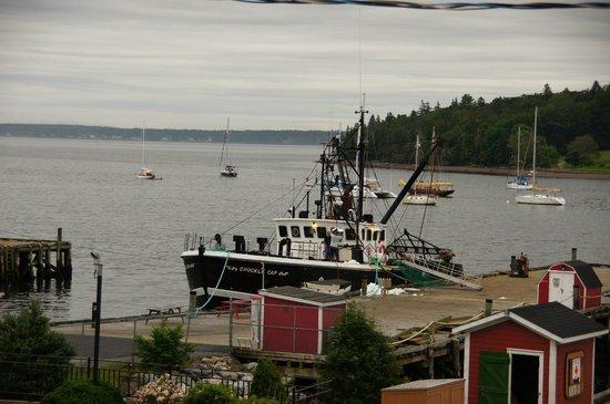 Sail Inn B&B: Blick vom Hotel