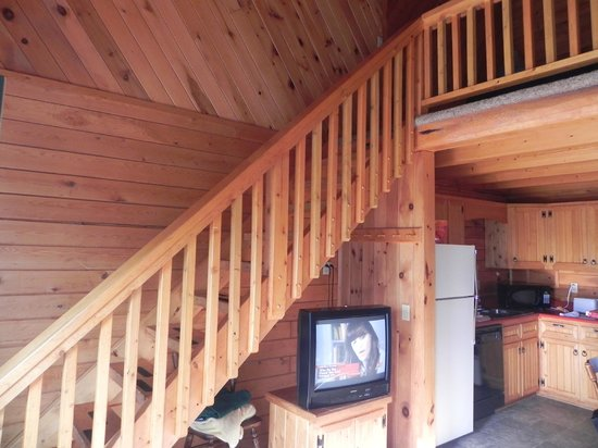Upstairs To Loft Picture Of Vacationland Estates Island