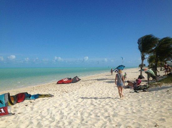 KiteProvo: Long Bay beach-facing West