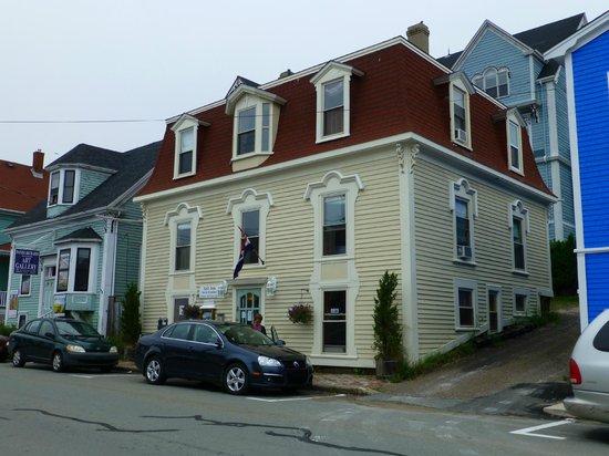 Sail Inn B&B im Erdgeschoss ist der Frühstücksraum, Zimmer auf der 1. und 2. Etage