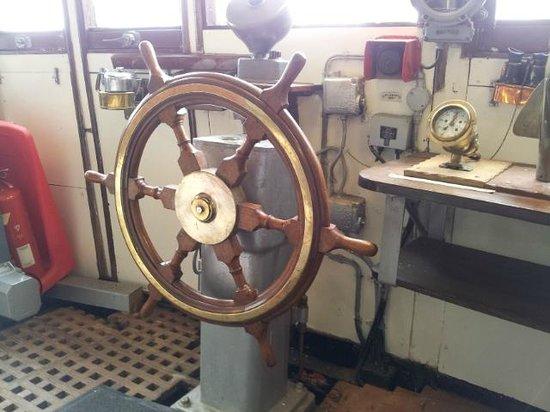 Arctic Corsair: The wheelhouse wheel
