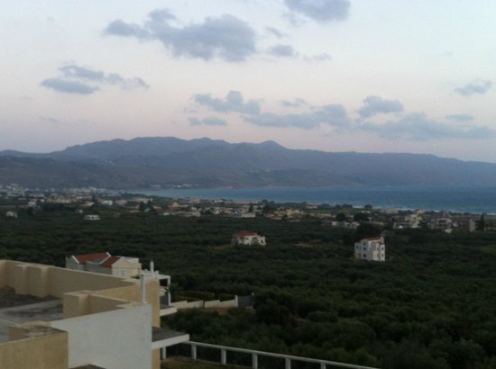 Antilia Apartments: Blick vom Balkon