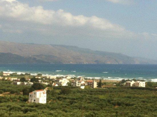 Antilia Apartments: Blick aus Meer 5 Uhr morgens