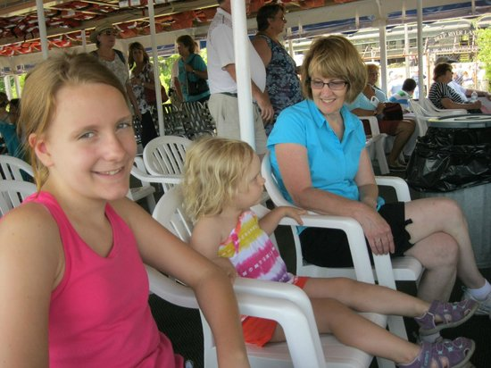 Essex Steam Train & Riverboat: We loved the boat ride