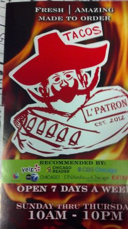Photo of Mexican Restaurant L' Patron Tacos at 2815 W Diversey Ave, Chicago, IL 60647, United States