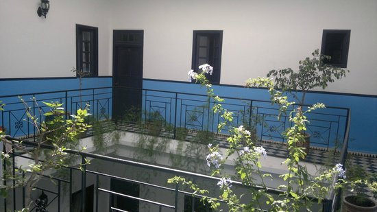 Riad Sidi Magdoul: vue de la chambre 6