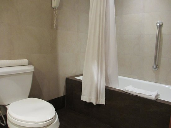 El Pardo DoubleTree by Hilton Hotel: Junior suite bathroom