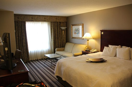 Hampton Inn & Suites Memphis - Beale Street: Bedroom