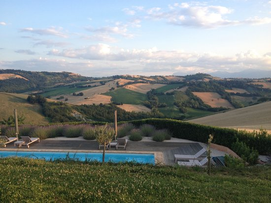 Casa San Ruffino : The beautiful view