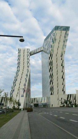 AC Hotel Bella Sky Copenhagen: Fachada.