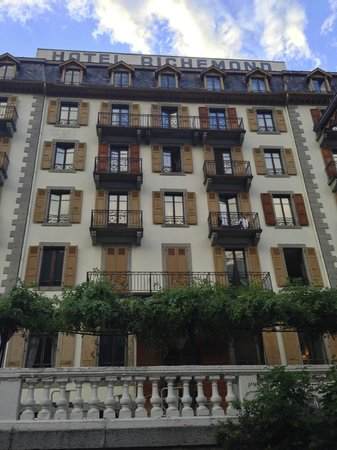 Hotel Richemond: Front of building