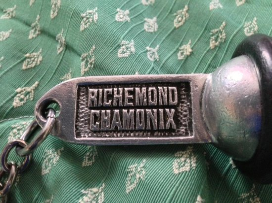Hotel Richemond: Key!
