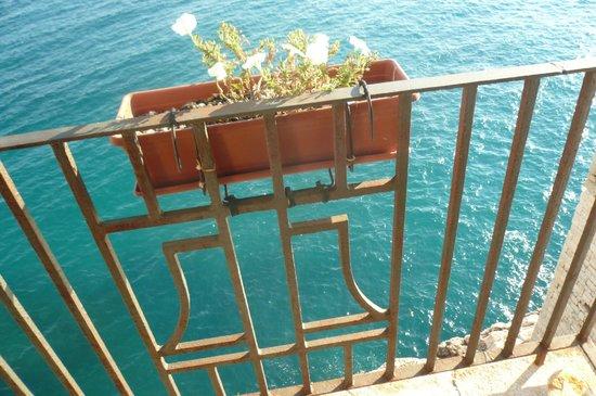 La Torretta sul Mare: vista dal balconcino