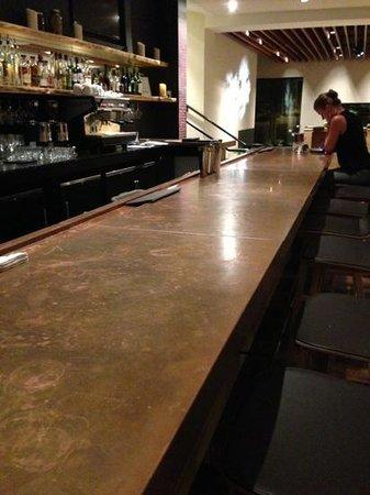 Hotel Vermont : hotel bar