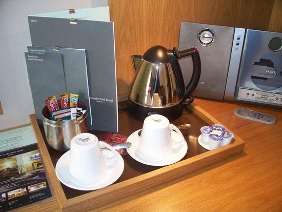 The Croke Park: Bollitore per tè e caffè nella stanza