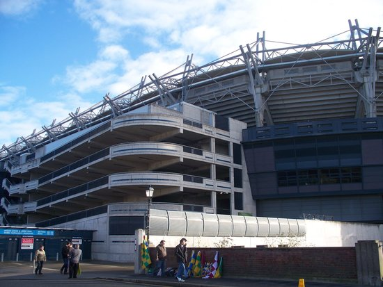 The Croke Park: Stadio di fronte all'hotel