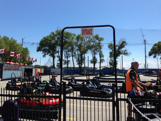 Go-Karts at Polson Pier