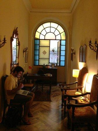 Hotel Cestelli : the lobby