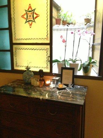 Hotel Cestelli : Detail in lobby