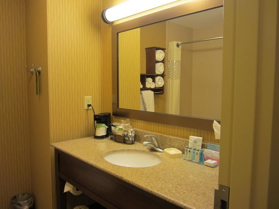 Hampton Inn Matamoras: Bath photo 2