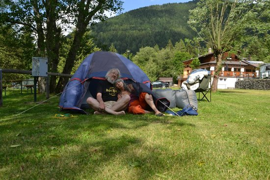 Camping & Chalet Presanella: Happy to have arrived at Presanella