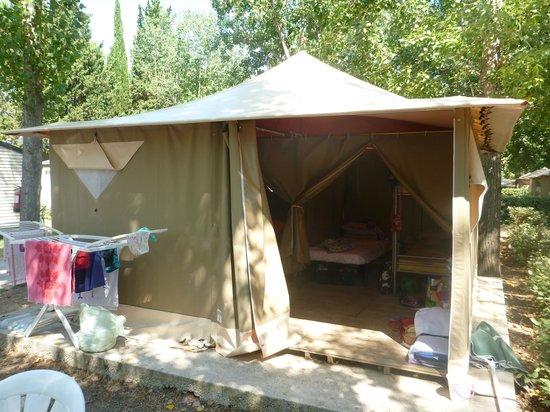 Tente Aménagée Picture Of Parc Des Sept Fonts Agde Tripadvisor