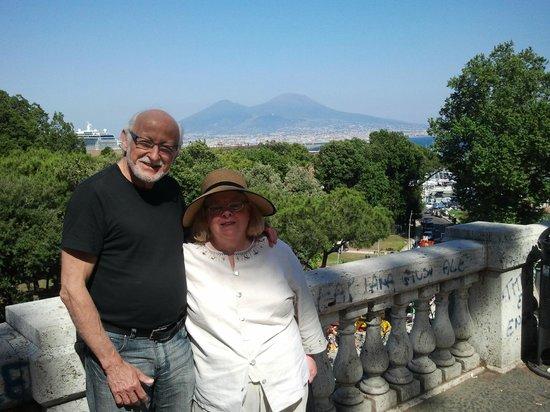 Hotel Maison Degas: Sue and Steve