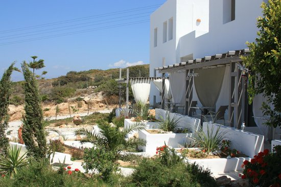 Naoussa Hills Boutique Resort: balcony