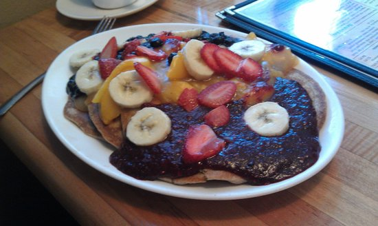 McFoster's Natural Kind Cafe: Banana Pecan Pancakes - Special