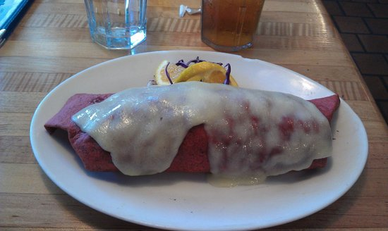 McFoster's Natural Kind Cafe: Breakfast Burrito - Huge and Yum.