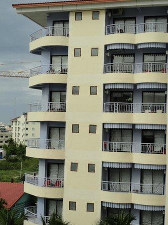 Mercure Pattaya Hotel: Room View